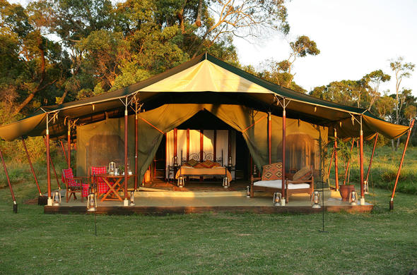 Elephant Pepper Camp in Masai Mara, Kenya.
