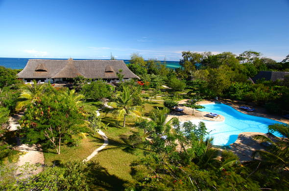 Kinondo Kwetu is the ideal family retreat on Diani Beach.