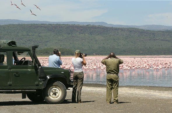 Lake Naivasha game drive from Loldia House.