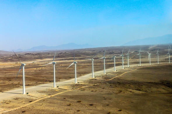 Lake Turkana wind power project wind farm.