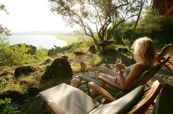 Striking views at Lake Naivasha.