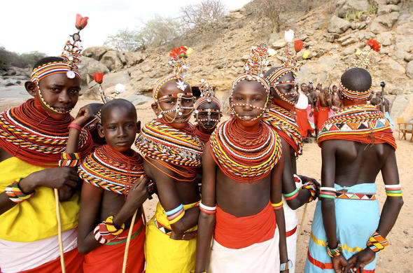 Local village visit meeting the people of Samburu.
